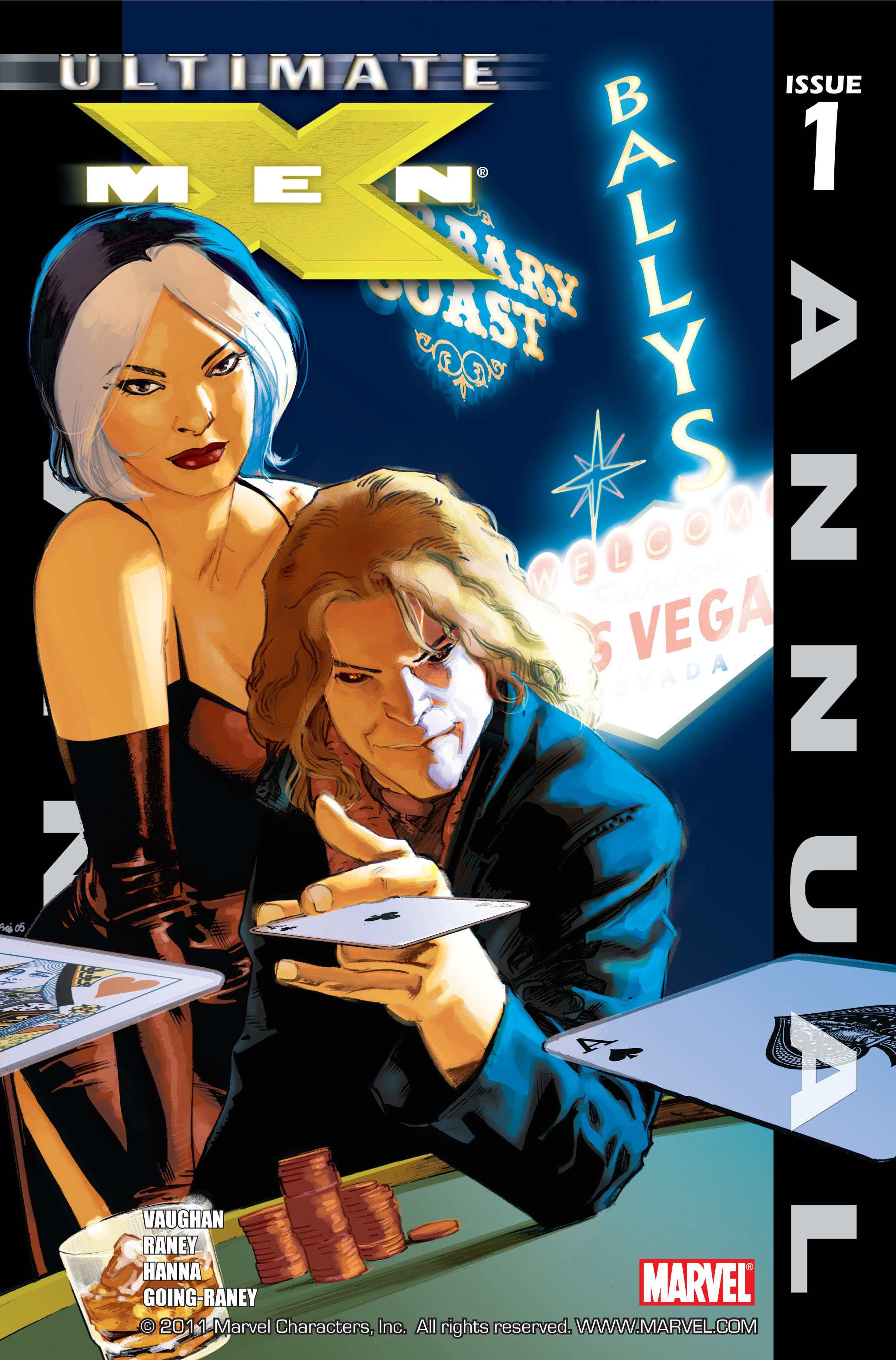 Read online Ultimate X-Men comic -  Issue # _Annual 1 - 1