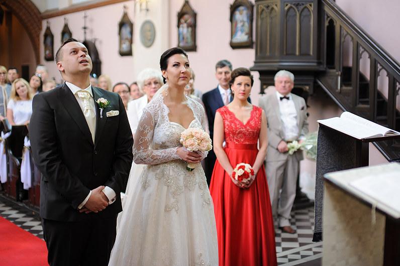 Vestuvių ceremonija šv. Onos bažnyčioje