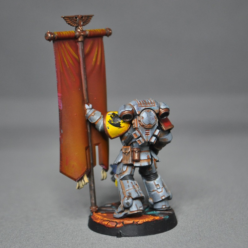 Space Wolves Banners Quietly Raging:...
