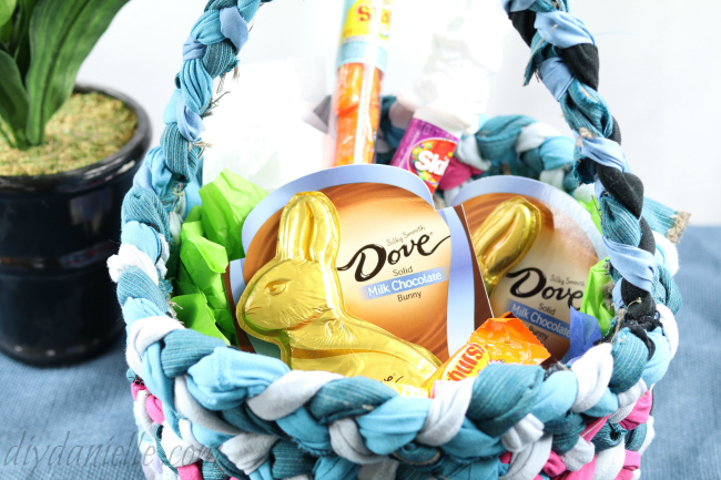 How to sew an easter basket from upcycled fabric diy danielle how to sew an easter basket negle Images
