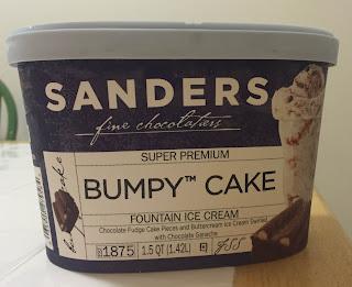 Sanders Fine Chocolatiers Bumpy Cake
