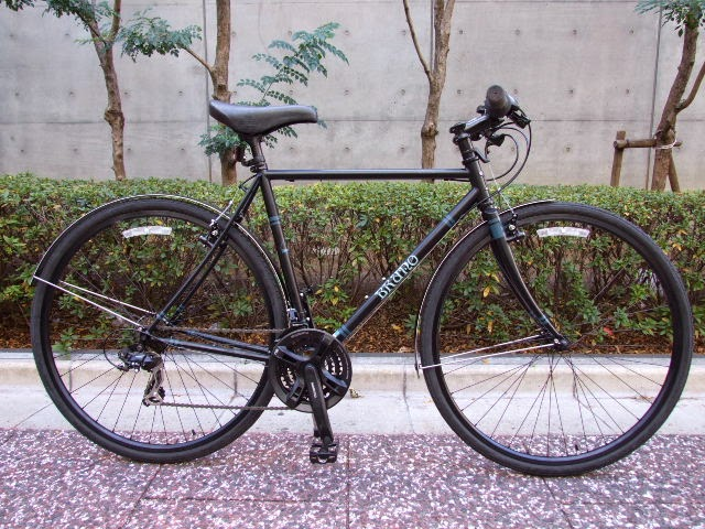Avelo Bicycle Shop Bruno Day Tour 700c Flat Limited Black