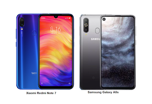 Samsung Galaxy A8s Vs Xiaomi Redmi Note 7 Comparisons