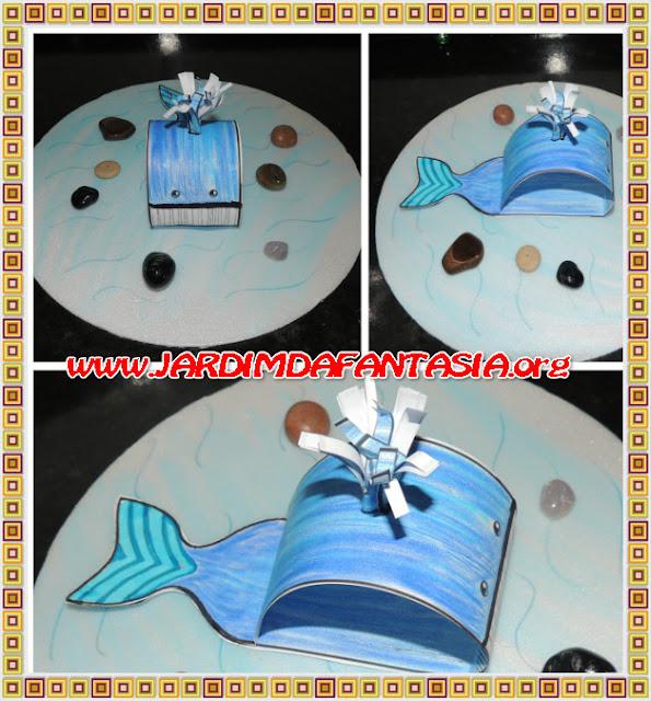 Projeto Fundo do Mar Animais Marinhos A Baleia-azul