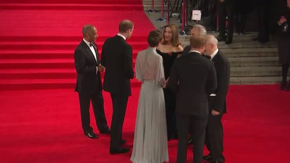 Prince William, Duke of Cambridge, Catherine, Duchess of Cambridge, and Prince Harry will attends the Royal World Premiere of 'Spectre' at Royal Albert Hall