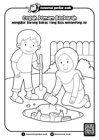 Mewarnai Gambar Anak