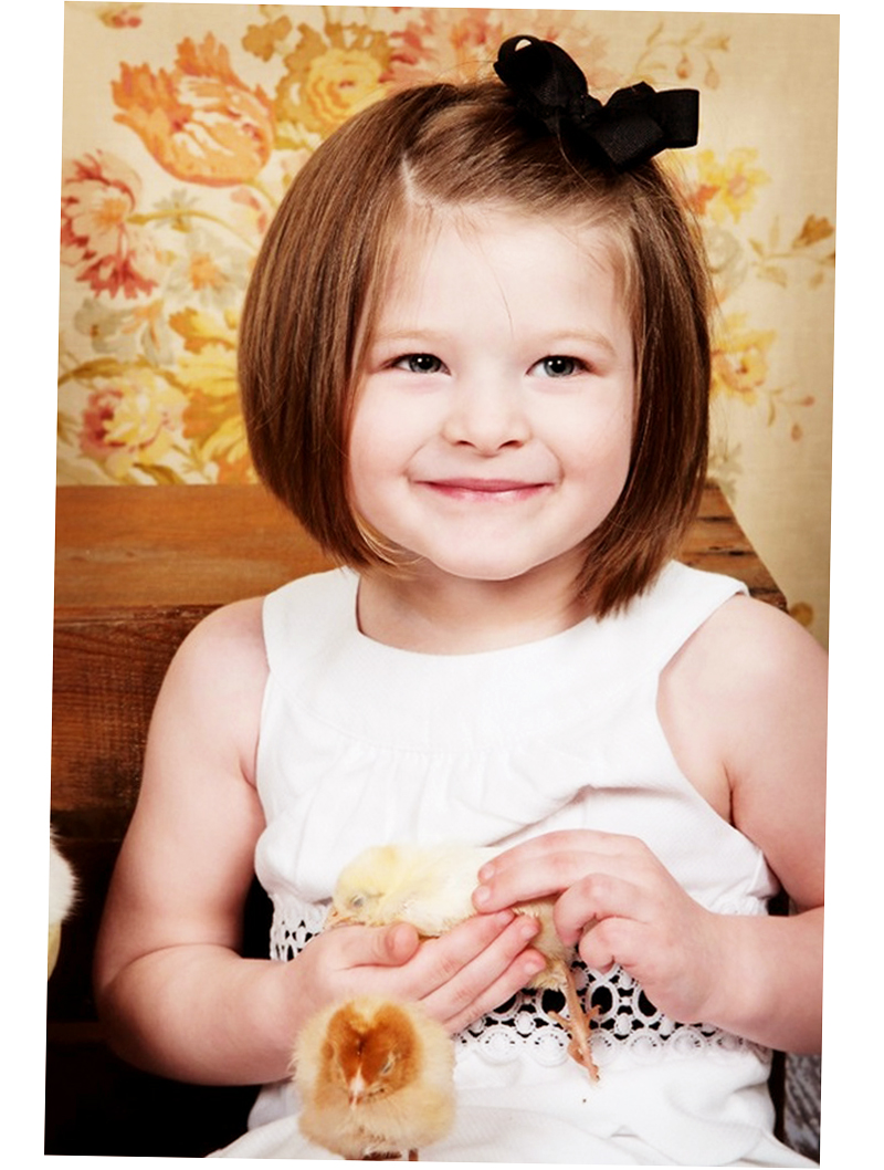 10 attractive haircuts for your baby girl - babygogo