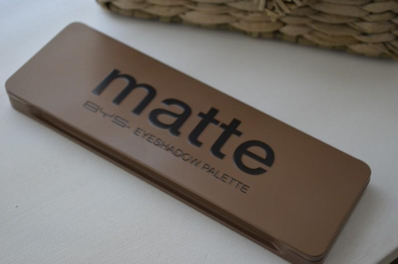 Palette  Nude Matte Finish de BYS Maquillage