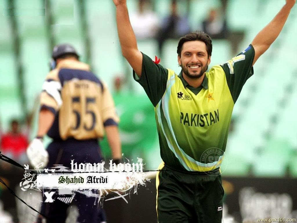 Shahid Afridi Wallpapers ~ HD Wallpapers