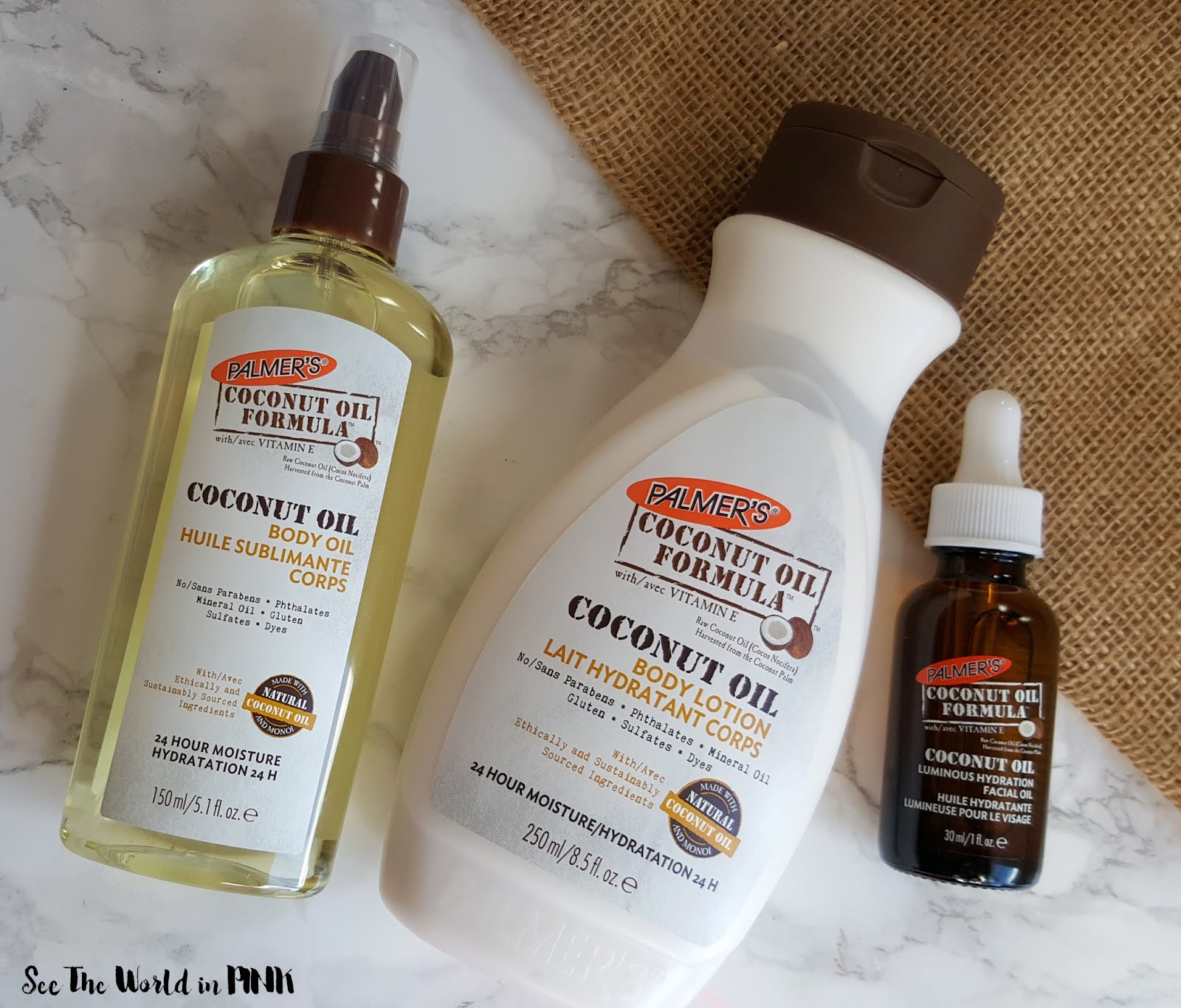 Skincare Sunday + Giveaway - Palmer's Coconut Oil Goodies!