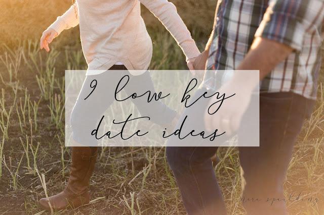 9 low key date ideas