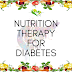 Nutrition Therapy for Diabetes