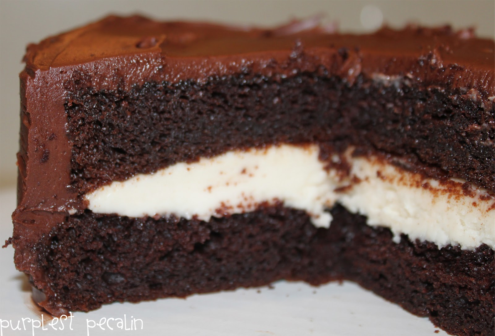 Chocolate Sour Cream Cake With Box Mix