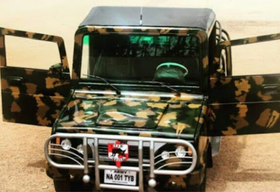 See First Nigerian-made Army Combat Vehicle Set For Use