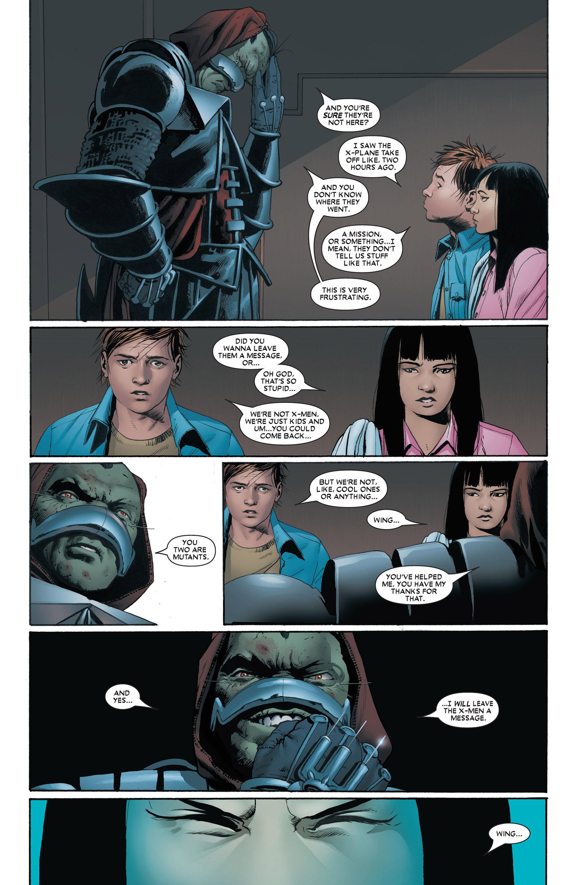 Read online Astonishing X-Men (2004) comic -  Issue #4 - 11