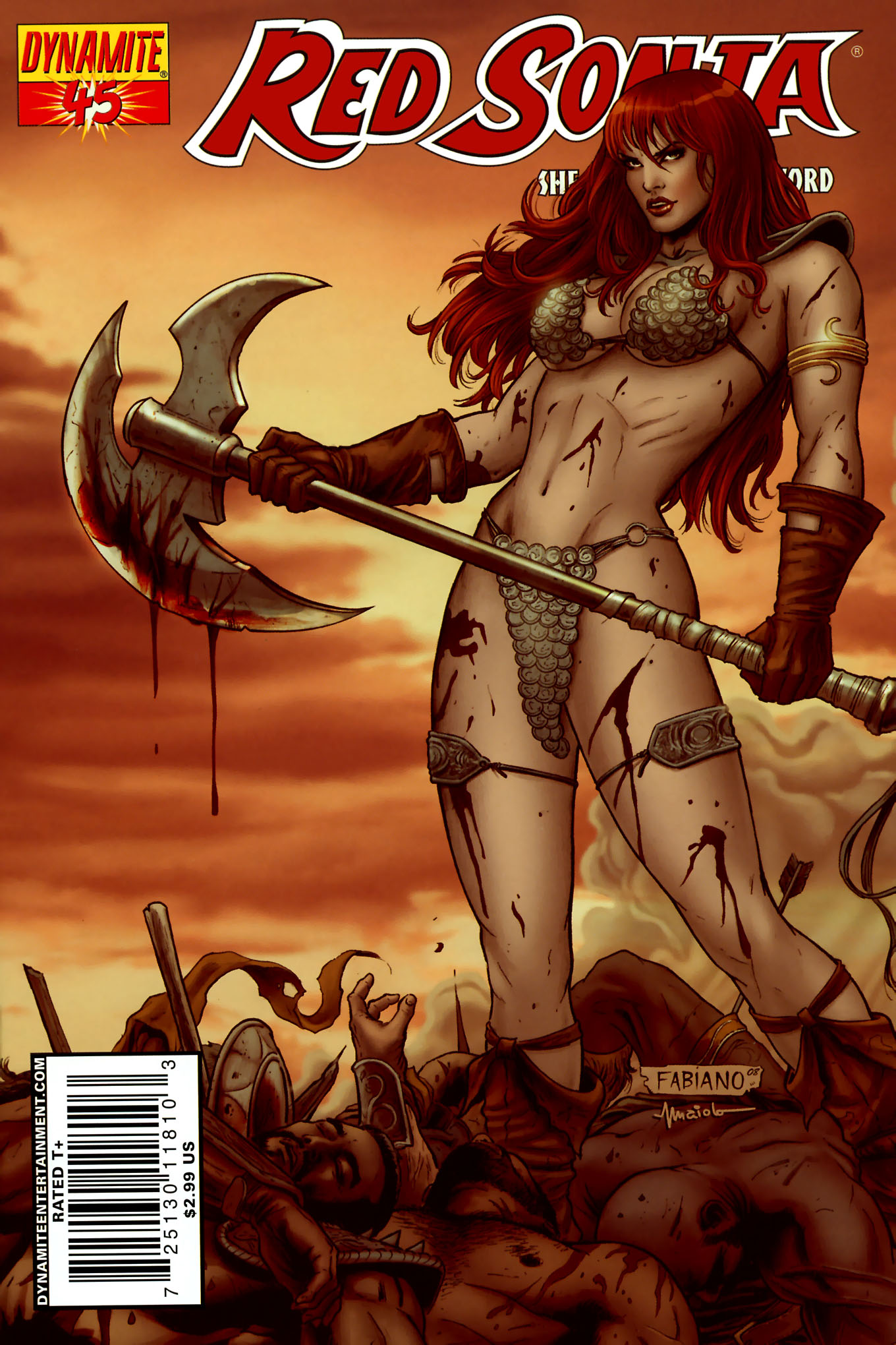 Read online Red Sonja (2005) comic -  Issue #45 - 2