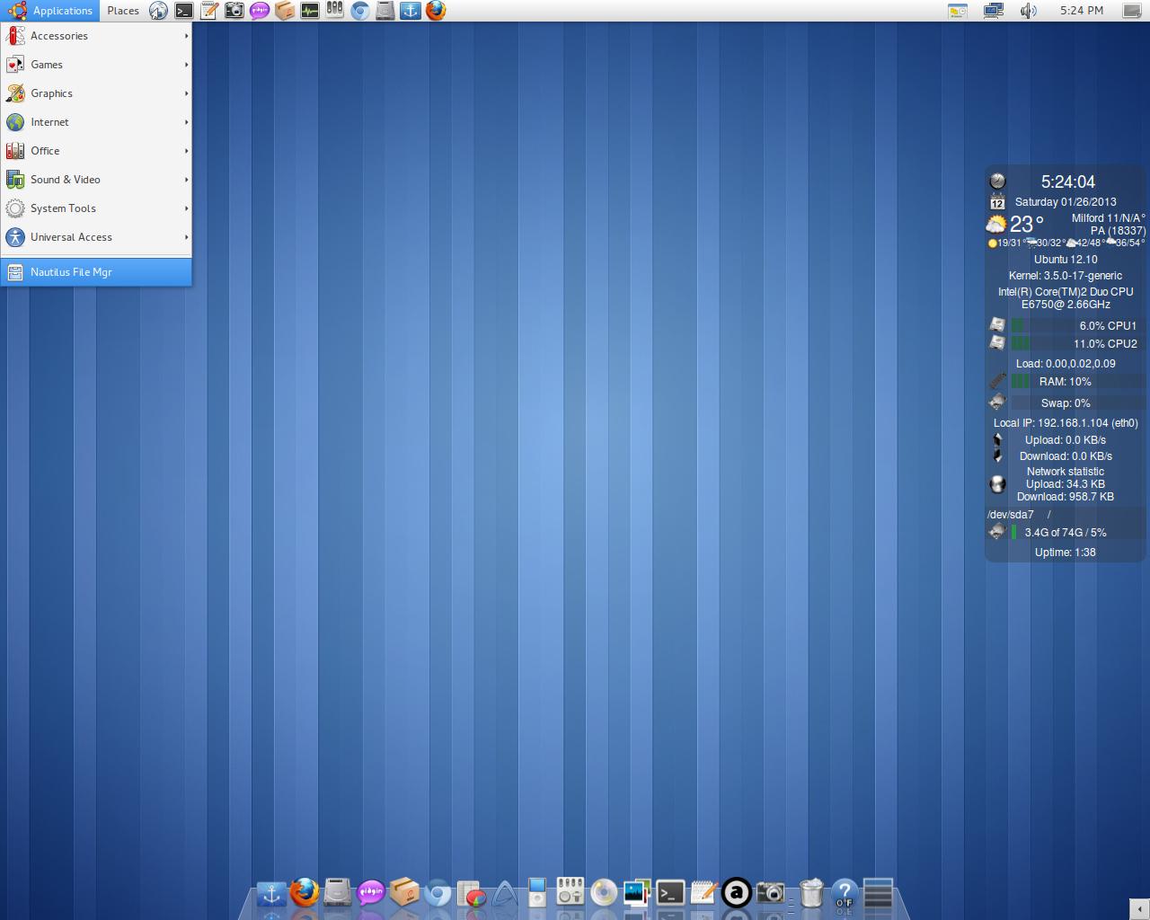 ubuntu gnome remix 12.10