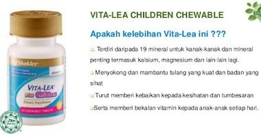Vitamin Vitalea Untuk Anak