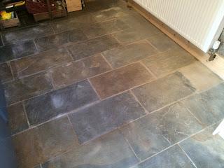 Restoring stone floors