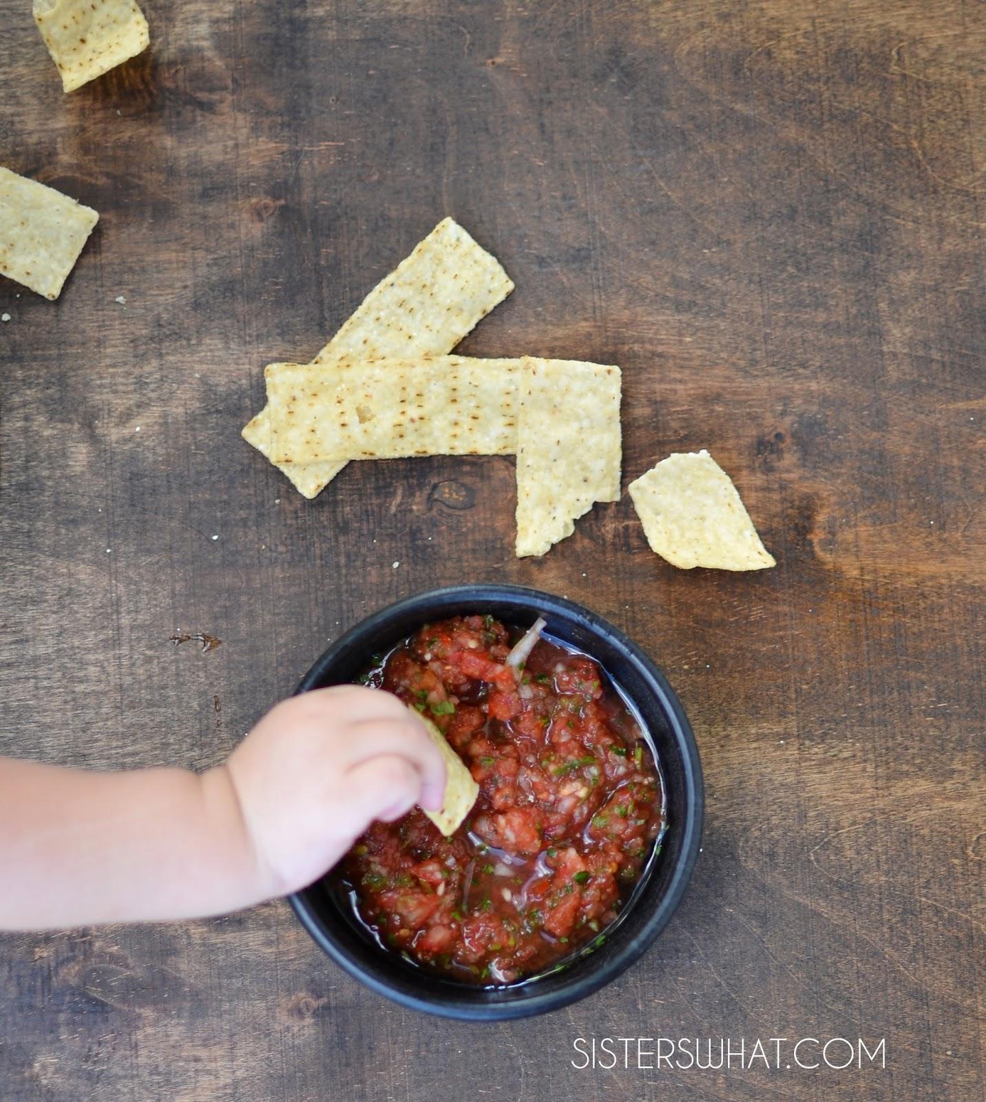 5 ingredient restaurant style salsa