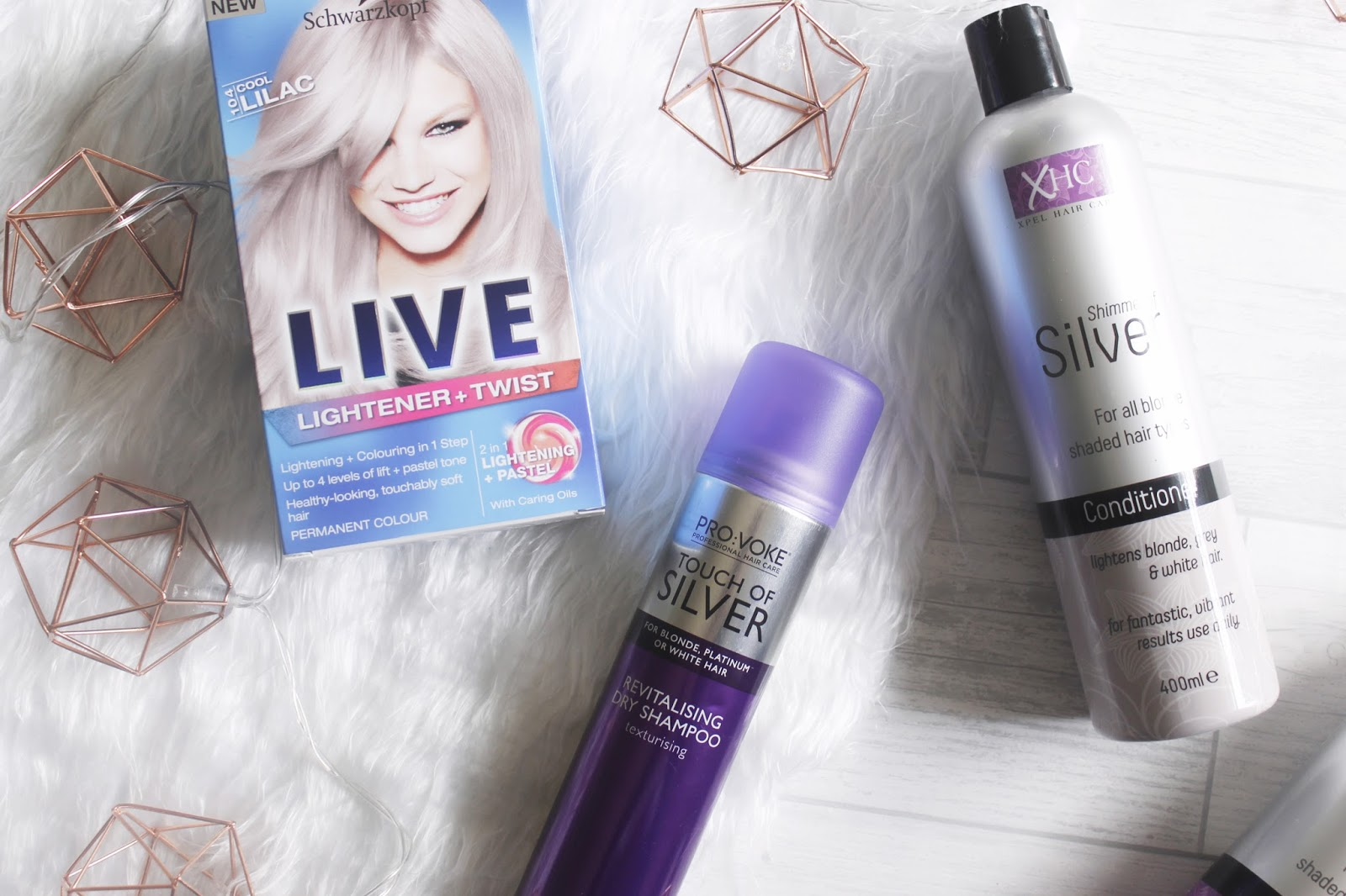 See The Stars - Silver Hair Essentials Haul
