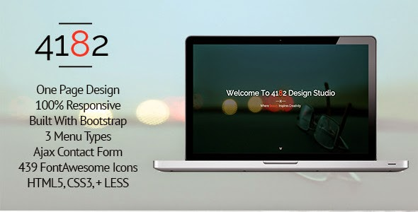 OnePage HTML5 Template
