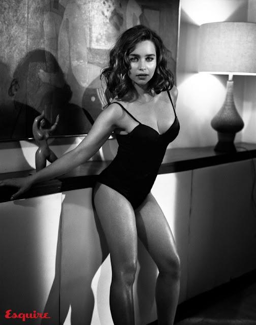 Emilia Clarke é eleita a mais sexy do mundo pela 'Esquire'
