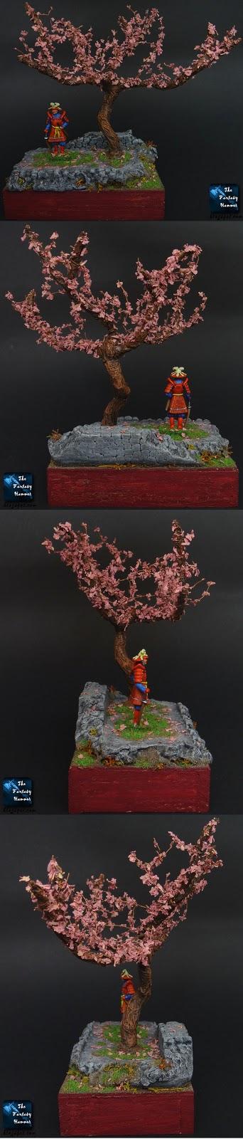 Samurai in the Cherry Blossom Land CMON