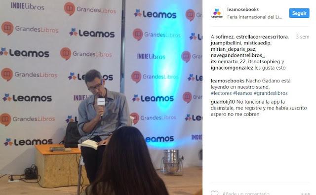 """LLEGÓ EL """"NETFLIX DE LOS LIBROS"""""""