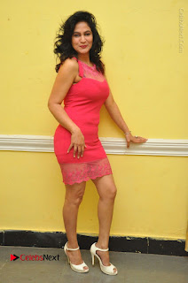 Telugu Actress Vijaya Murthy Stills in Red Short Dress at Www.Meena Bazaar Movie Opening  0100.JPG