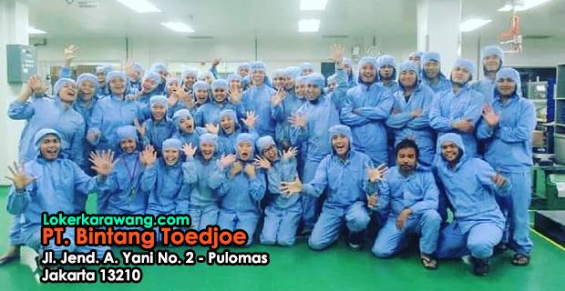 Lowongan Kerja PT. Bintang Toedjoe Pulomas