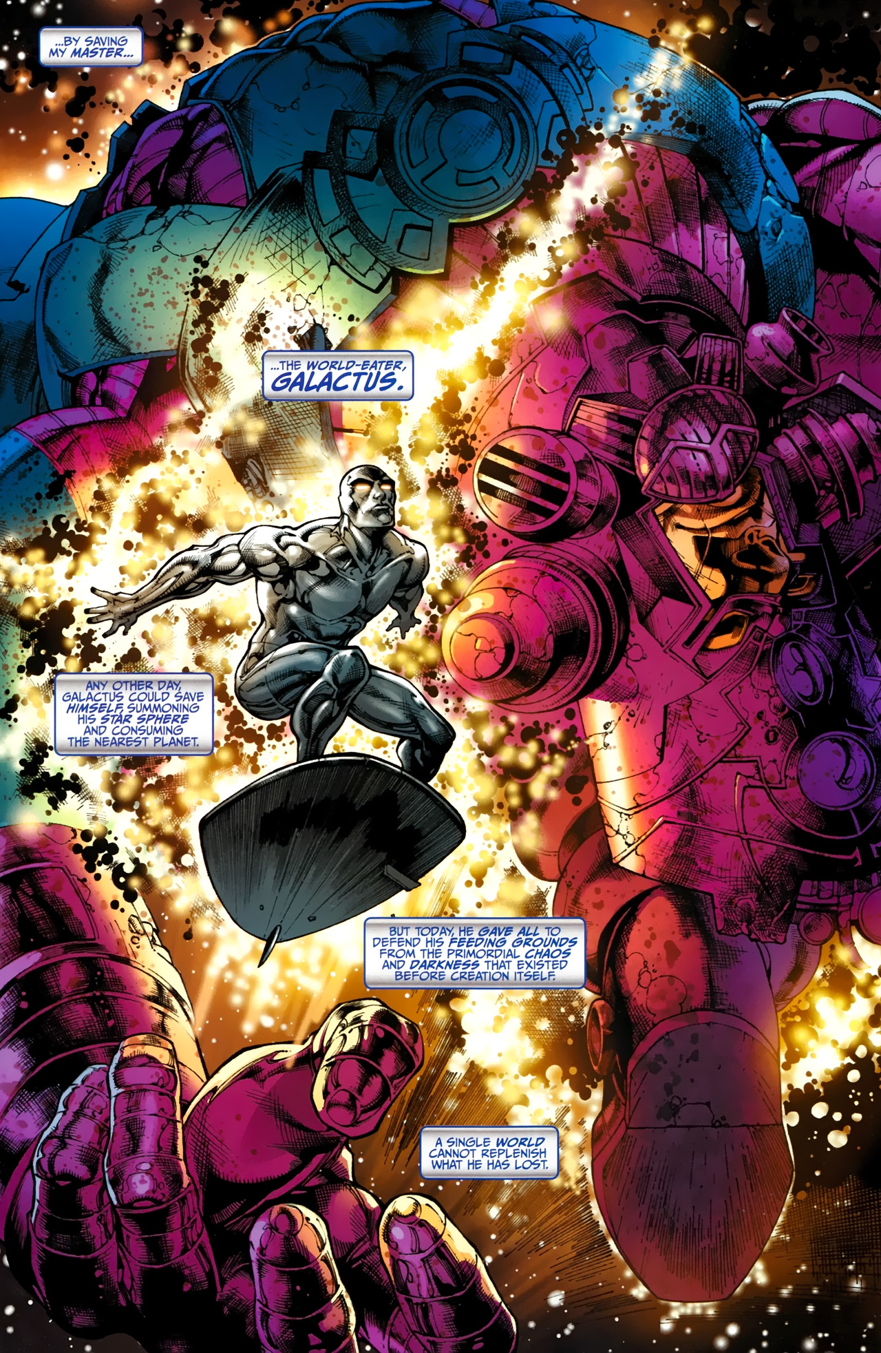 Read online Silver Surfer (2011) comic -  Issue #1 - 4