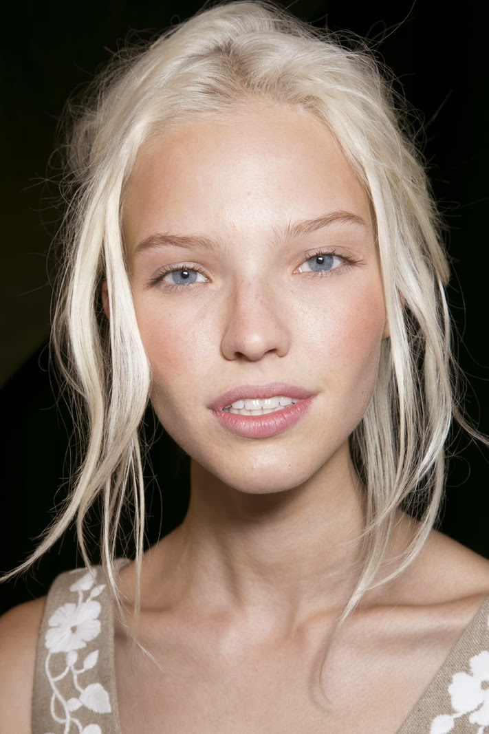 Beauty Blonde In Cold Colours Royalty Free Stock Images: Rhyme&Reason: Model Crush On Sasha Luss
