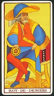 Tarot Marsella: Rey de Oros
