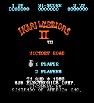 【FC】怒IKARI(Ikari Warriors)1+2+3代原版+無敵、無限彈藥Hack版