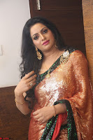 Udaya Bhanu lookssizzling in a Saree Choli at Gautam Nanda music launchi ~ Exclusive Celebrities Galleries 104.JPG