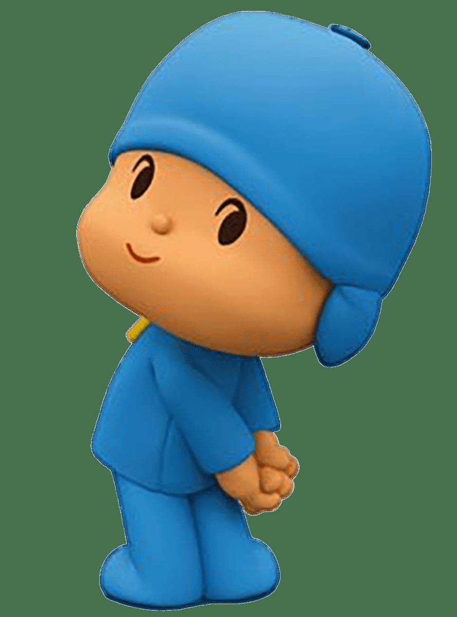 Cartoon Characters: Pocoyo (PNG)
