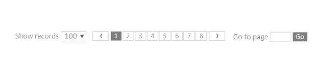 Pagination design