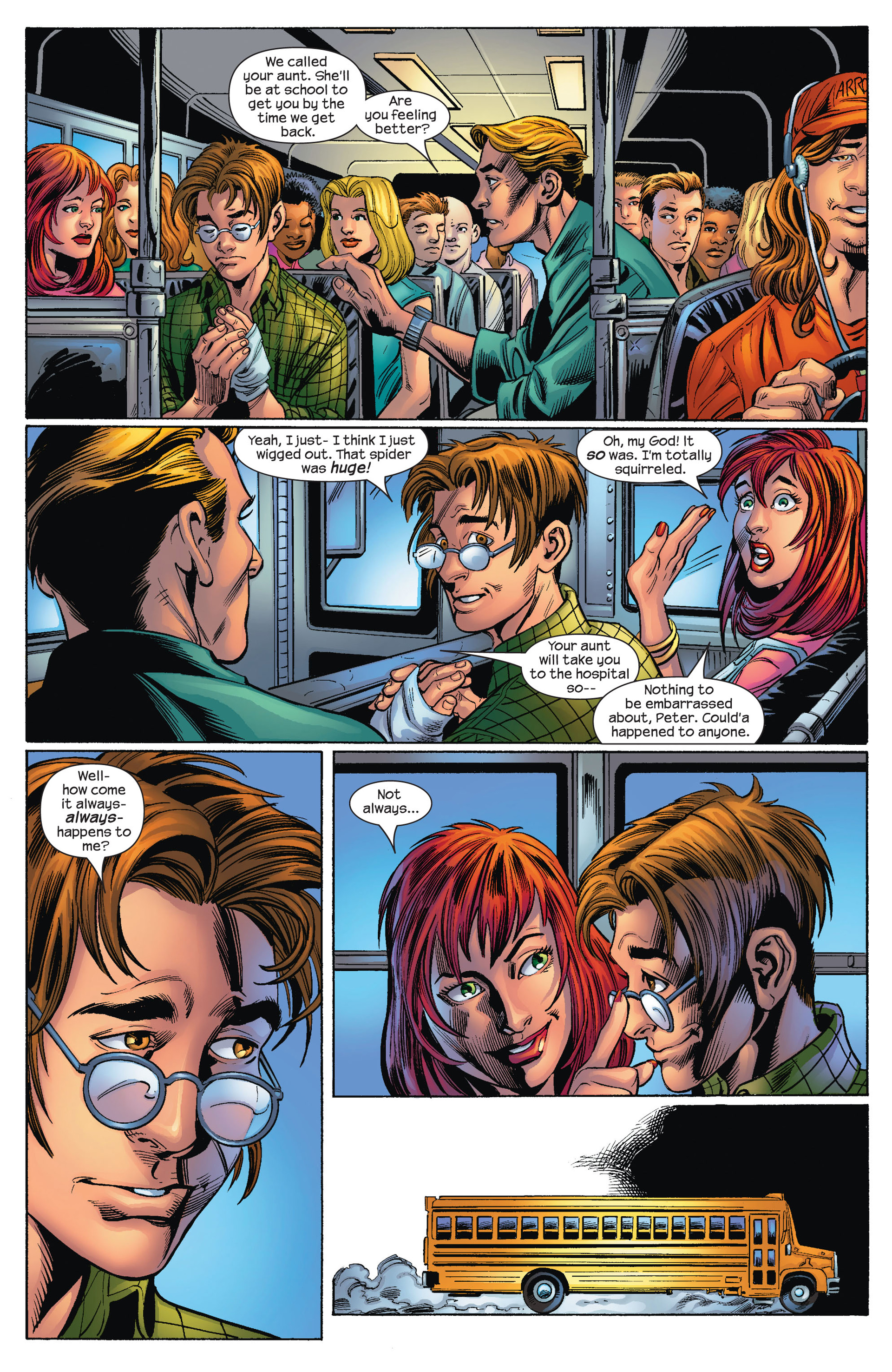 Read online Ultimate Spider-Man (2000) comic -  Issue #72 - 5