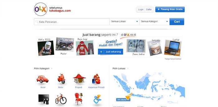 Daftar Situs Jual Beli Online Terbaik di Indonesia