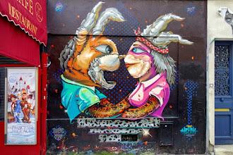 Sunday Street Art : Berns - rue Lemon - Paris 20