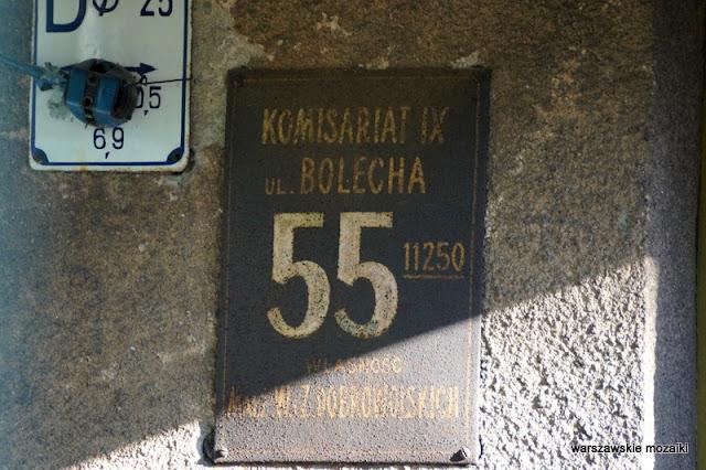 Warszawa Warsaw Wola tabliczka adresowa adres