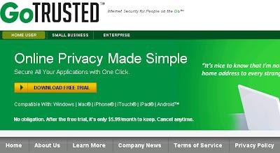 Download Link For Go-Trusted VPN