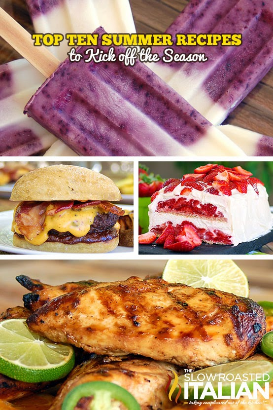Top 10 All Time Summer Recipes #summer #recipes #grill #desserts