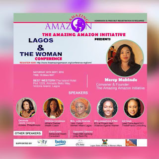Lagos and the woman