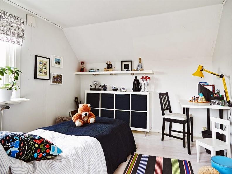 dormitorio infantil de estilo nordico