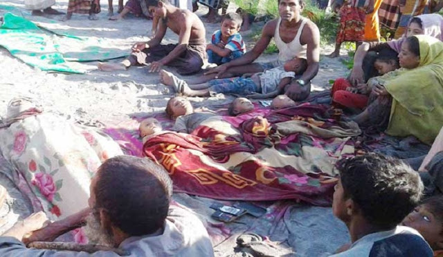 Rohingyas-sank-boats-the-number-of-deaths-increased-to-10