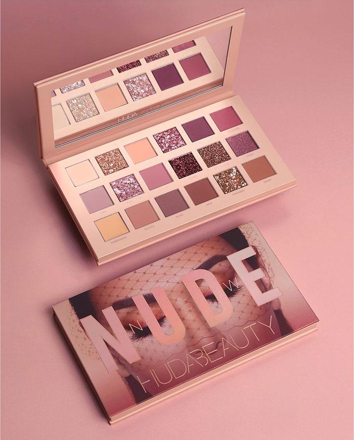 Huda Beauty Desert Dusk Eyeshadow Palette, Pressed Powder