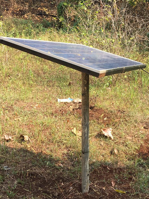 A small project that FWFCC and Seaeco had earlier initiated was the purchase and installation of a solar panel and batteries for Rangers at the Mai Yuk Station. Previously there had been no lights or way to charge cell phones.