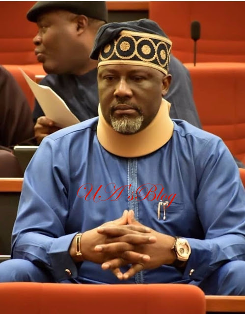 The Moment Saraki Sent Dino Melaye Back To His Seat At The Senate (Video)
